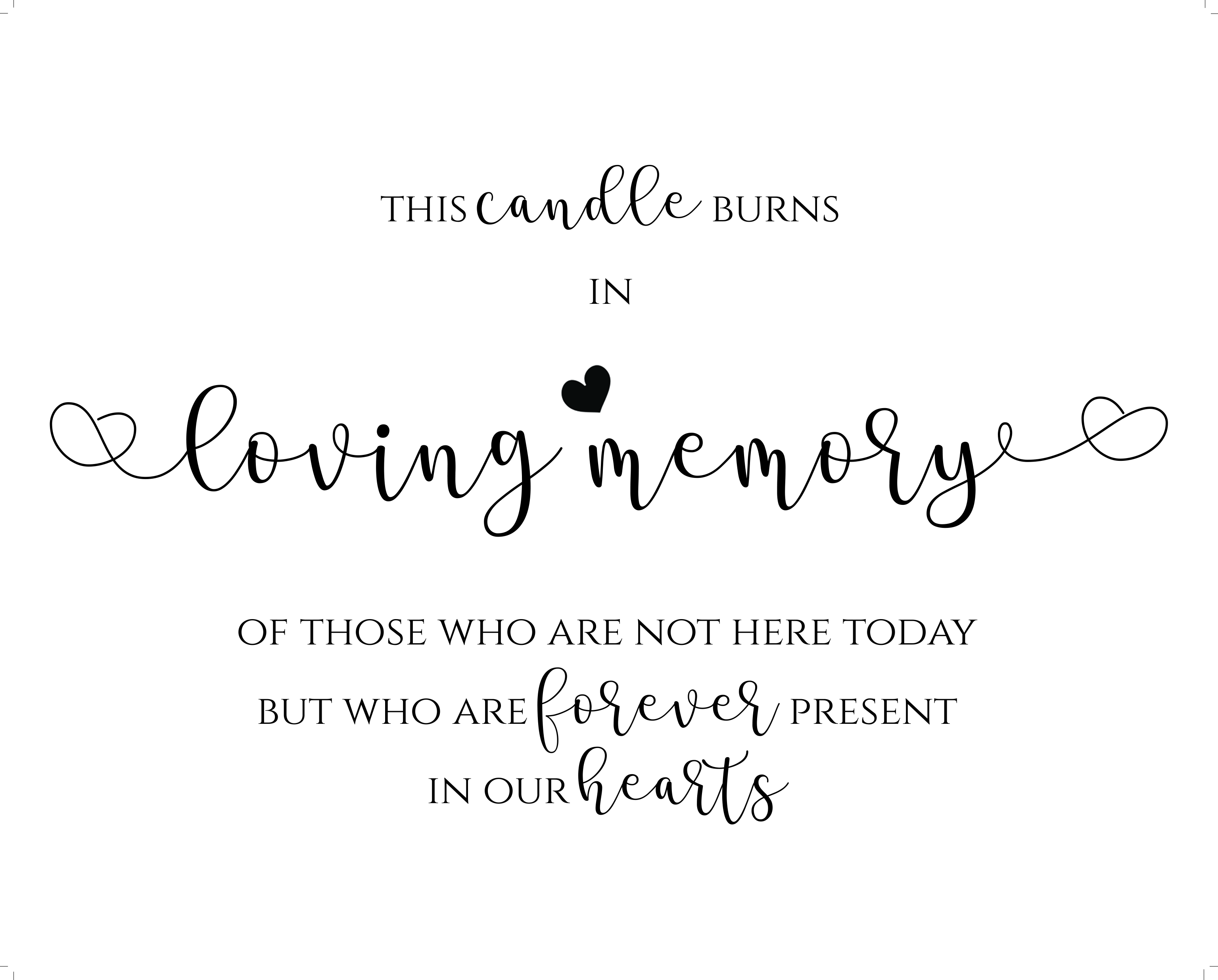 graphic about In Loving Memory Free Printable identified as Wedding day Indicators We Do Invitations